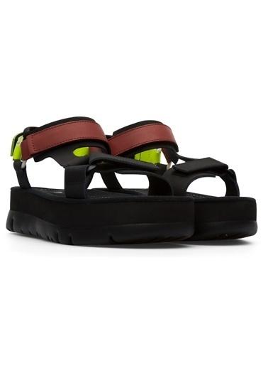 Camper Oruga Up Sandalet Siyah